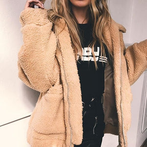 Plush Zip Jacket