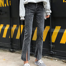 Split Front Denim