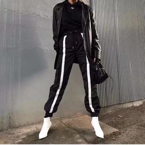 Contrast Band Pant