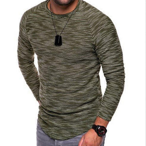 Ribbed Scoop Hem
