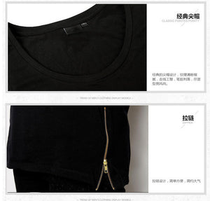 The Side Zip Tank-[men's fashion]-truthincloth