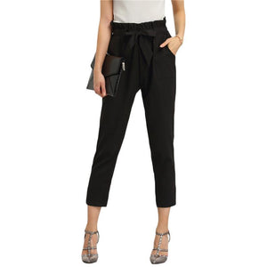 Tie Waist Trouser-[women's clothing]-truthincloth