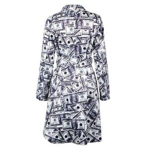 Money Trench Coat