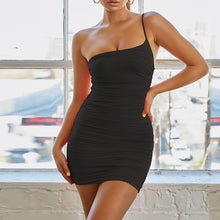 Slinky One Strap Dress