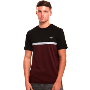 Connect Black / Maroon T-Shirt