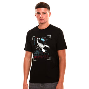 Emperor Scorpion Glow In The Dark Luxury T-Shirt Black