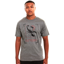 Load image into Gallery viewer, Emperor Scorpion Carbon Fibre Mercerised T-Shirt Grey