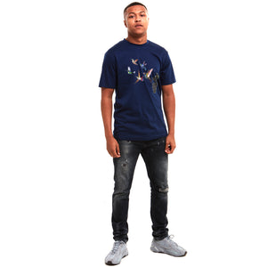 Grenade Luxury T-Shirt Navy
