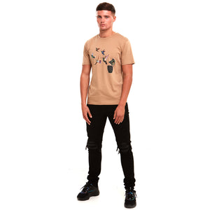 Grenade Luxury T-Shirt Sand