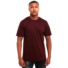 Load image into Gallery viewer, Plain Mercerised T-Shirt Maroon