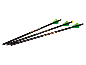 "Diablo 18"" Illuminated Carbon Arrows (3pk)"