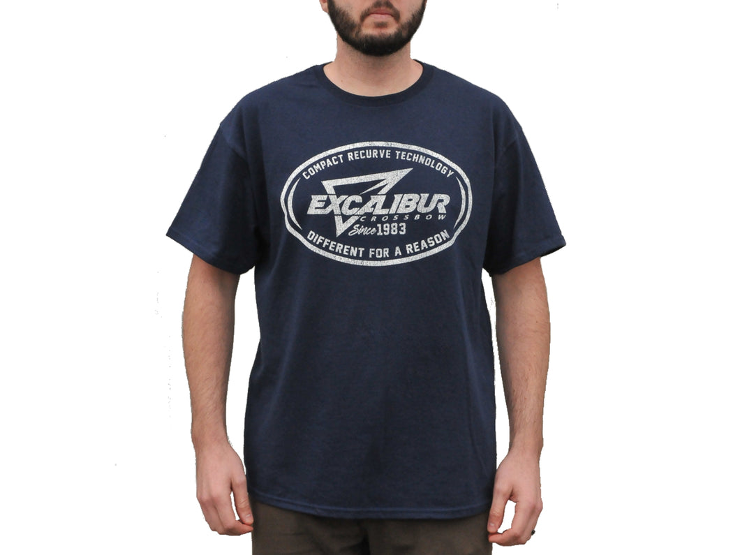 Excalibur Short Sleeve T-Shirt (Navy)