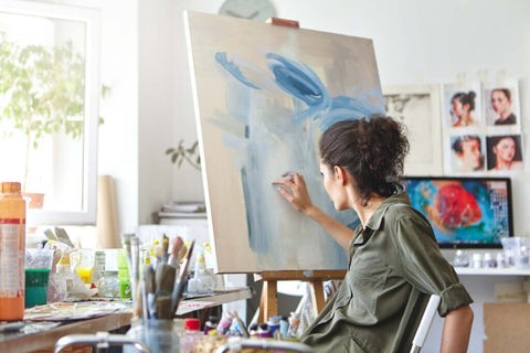 5 Productive Hobbies that help you improve your life - Painting - Paint with Diamonds art Club - Diamond Painting Art Kits