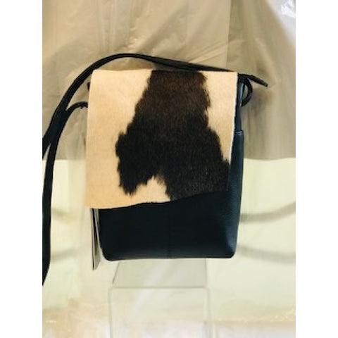 ILI Mini Crossbody w/ Cowhide