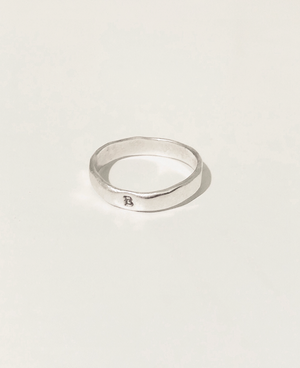 Sterling Stamped Band (N-Z)