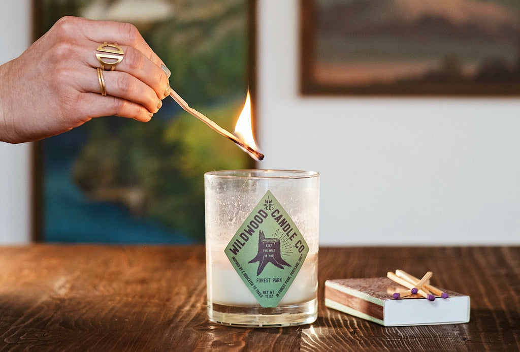 Wildwood Candle Co. Candle Safety and Care