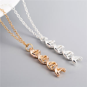 DNA Double Helix necklace, necklace - Sleek Science
