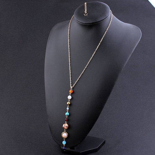 Solar System Necklace, necklace - Sleek Science