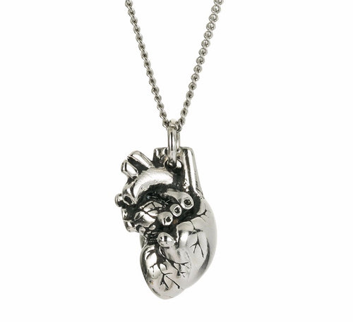 Anatomical Heart Necklace, necklace - Sleek Science