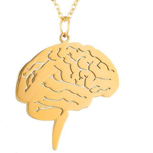 Brain Pendant, necklace - Sleek Science