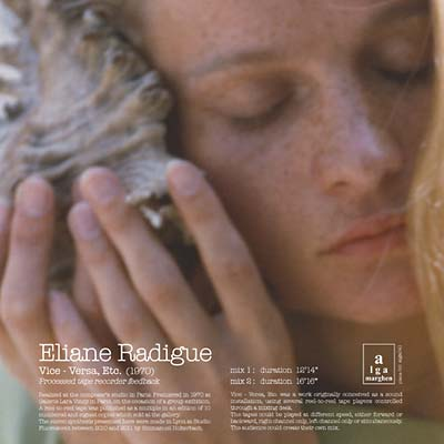 RADIGUE, ELIANE - Vice-Versa, Etc...
