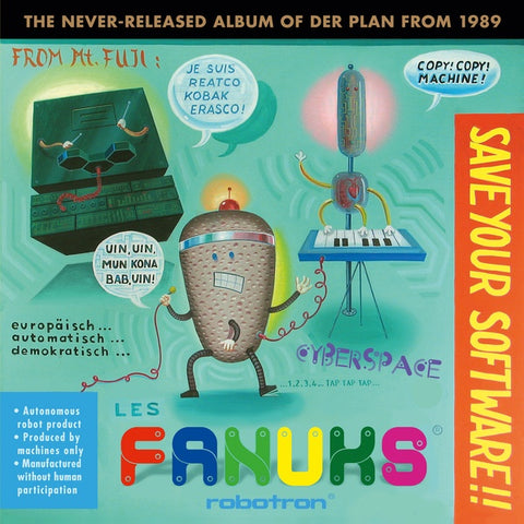 DER PLAN - Save Your Software!! (The Never-Released Album of Der Plan from 1989)