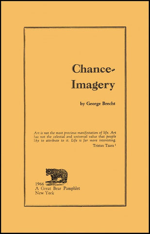 BRECHT, GEORGE - Chance-Imagery