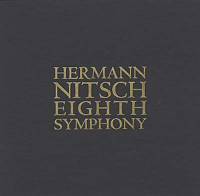 NITSCH, HERMANN - 8th Sinfonie