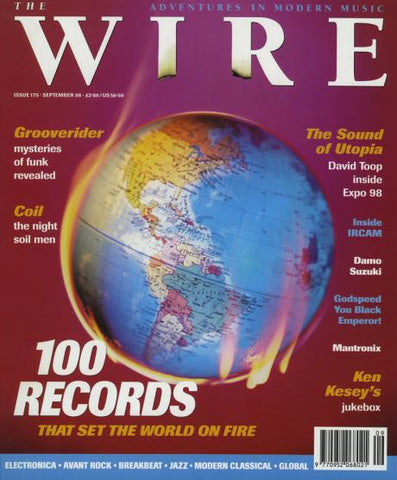 WIRE, THE - #175 September 1998