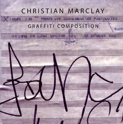 MARCLAY, CHRISTIAN - Graffiti Composition