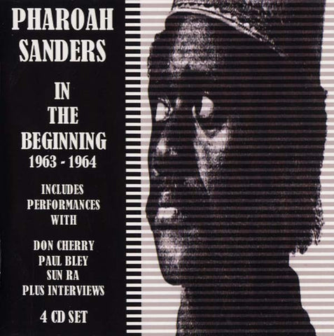 SANDERS, PHAROAH - In the Beginning 1963-64