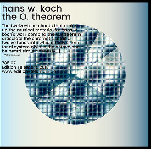KOCH, HANS W. - The O. Theorem