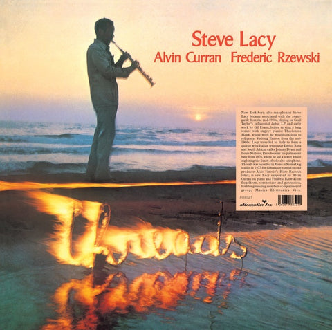 LACY, STEVE, ALVIN CURRAN & FREDERIC RZEWKI - Threads