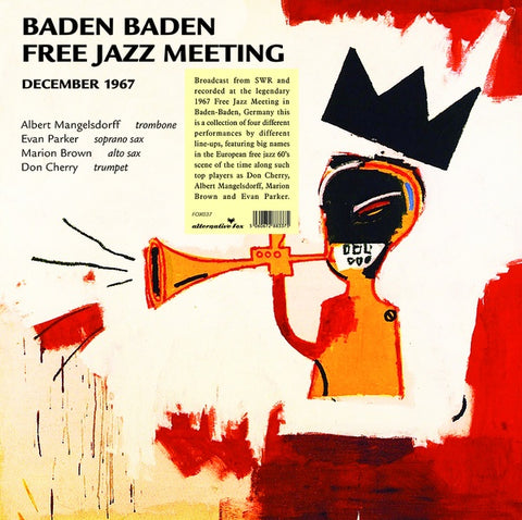 CHERRY & FRIENDS, DON - Baden Baden Free Jazz Meeting, December 1967 - SWR Broadcast