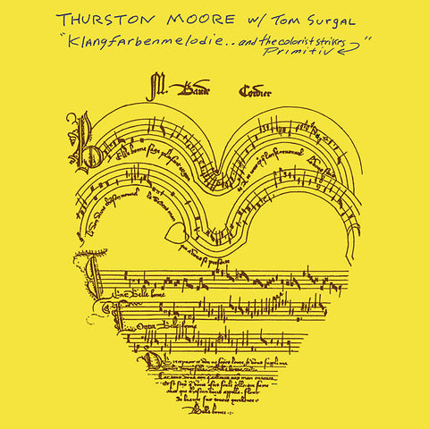 MOORE, THURSTON W/ TOM SURGAL - Klangfarbenmelodie.. And The Colorist Strikes Primitiv