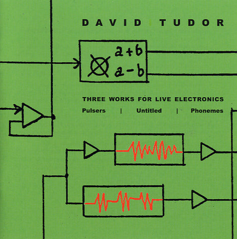 TUDOR, DAVID - Three Works For Live Electronics