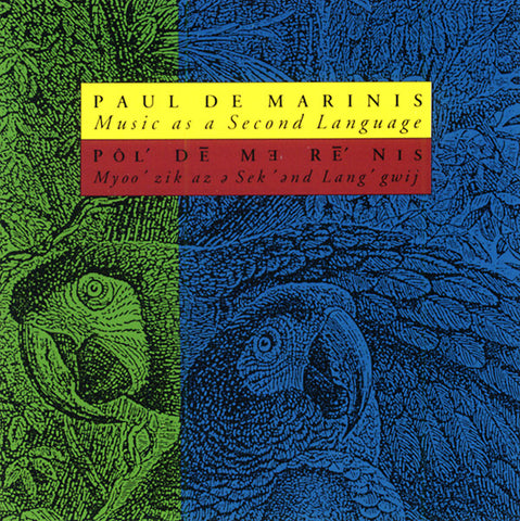 DEMARINIS, PAUL - Music As A Second Language