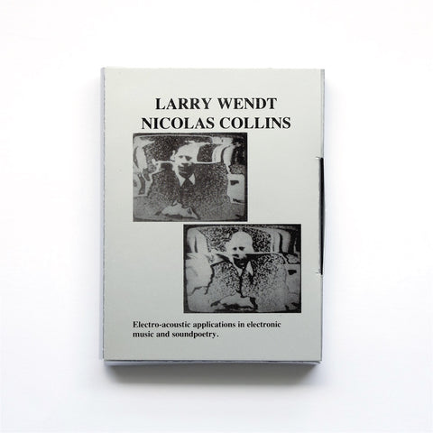 WENDT, LARRY/NICOLAS COLLINS - Slowscan Vol. 3
