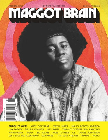 MAGGOT BRAIN - Maggot Brain #1 (Dec/Jan/Feb 2020)