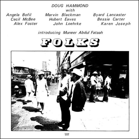 HAMMOND, DOUG - Folks