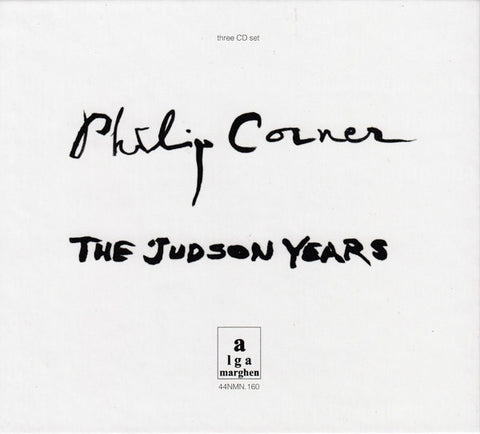 CORNER, PHILIP - The Judson Years