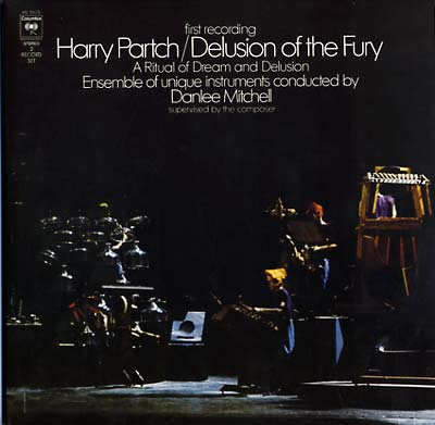 PARTCH, HARRY - Delusion Of The Fury