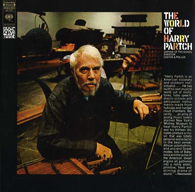 PARTCH, HARRY - The World of Harry Partch