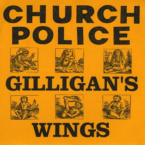 fustron CHURCH POLICE, Gilligans Wings