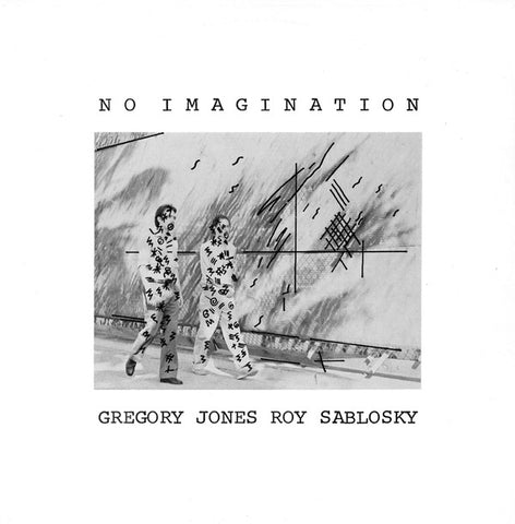 fusetron JONES, GREGORY/SABLOSKY, ROY, No Imagination