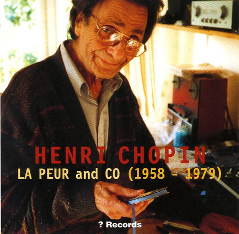 fusetron CHOPIN, HENRI, La Peur And Co (1958-1979)