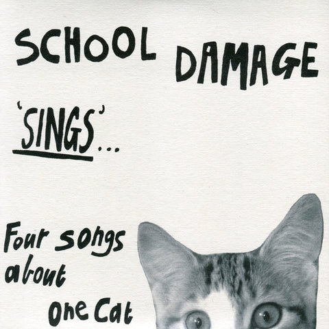 fusetron SCHOOL DAMAGE, Sings... Four Songs About One Cat