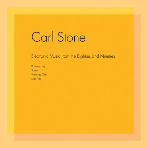 fusetron STONE, CARL, Electronic Music from the Eighties and Nineties