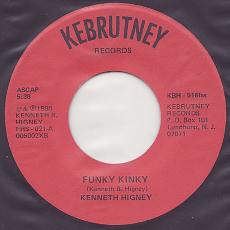 fusetron HIGNEY, KENNETH, Funky Kinky/I Wanna Be King