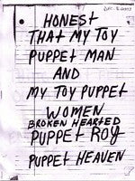 fustron SUNBURNED HAND OF THE MAN, Puppet Heaven